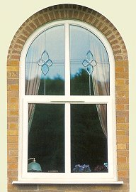 Window with arched top